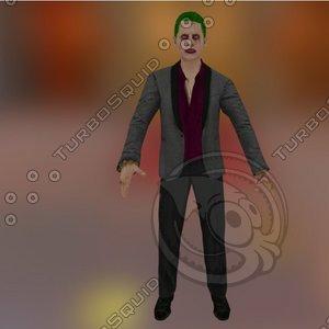 3d 3ds character joker