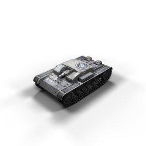 stug 3 ausf tanks 3d max