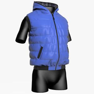3d clothing vest