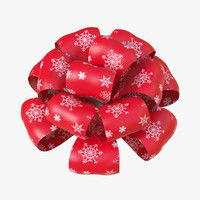 3d christmas bows