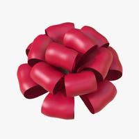 3d christmas bows model