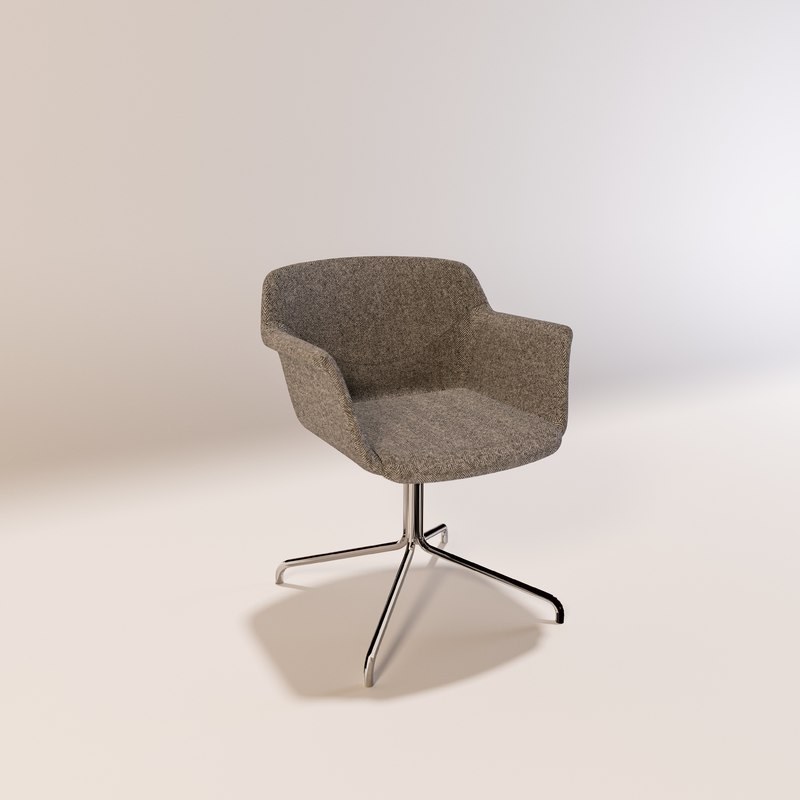 3d smile chair model