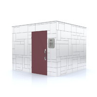 modern container toilet 3d model