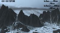 3d snow mountain 1