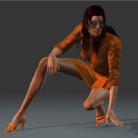 mary-ann human female 3d fbx