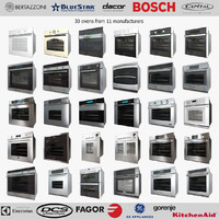 bertazzoni wall ovens 3d model