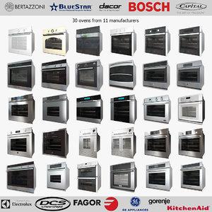 bertazzoni wall ovens 3d model