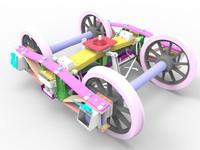 3d model archbar truck