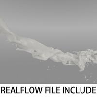 flow realflow 3d max
