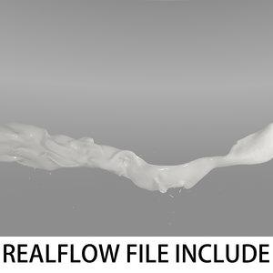 flow realflow 3d model
