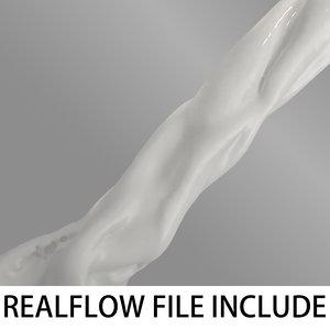 3d flow realflow