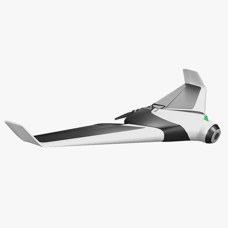 3d drone parrot disco