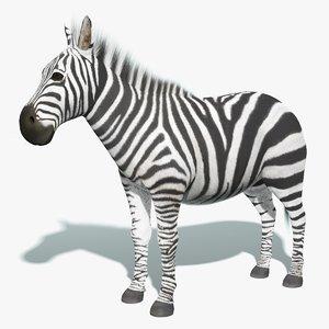 zebra fur animation 3d max