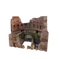 3d model roman building