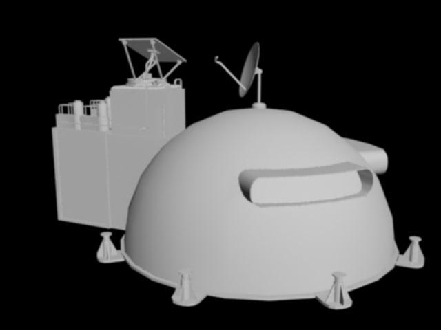 3d model lunar house