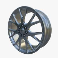 wheel trim rim 3d model