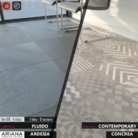tile ariana concrea imagine 3d max