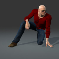 3D Fashion Top Model Charles