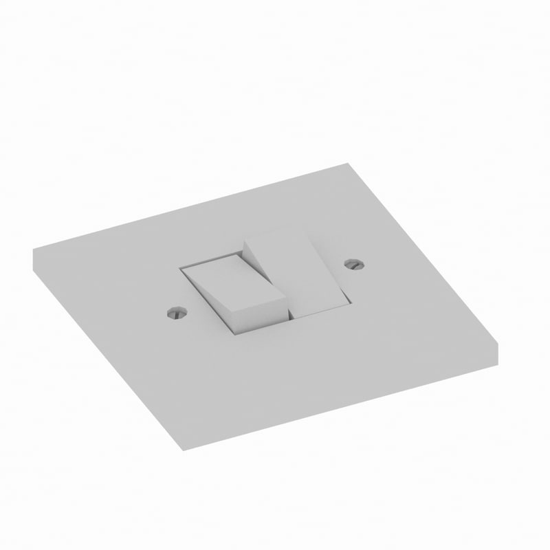 light switch 3d max