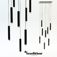 3d model chandelier tradition copenhagen