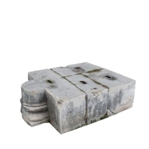 stone block 2 3d max