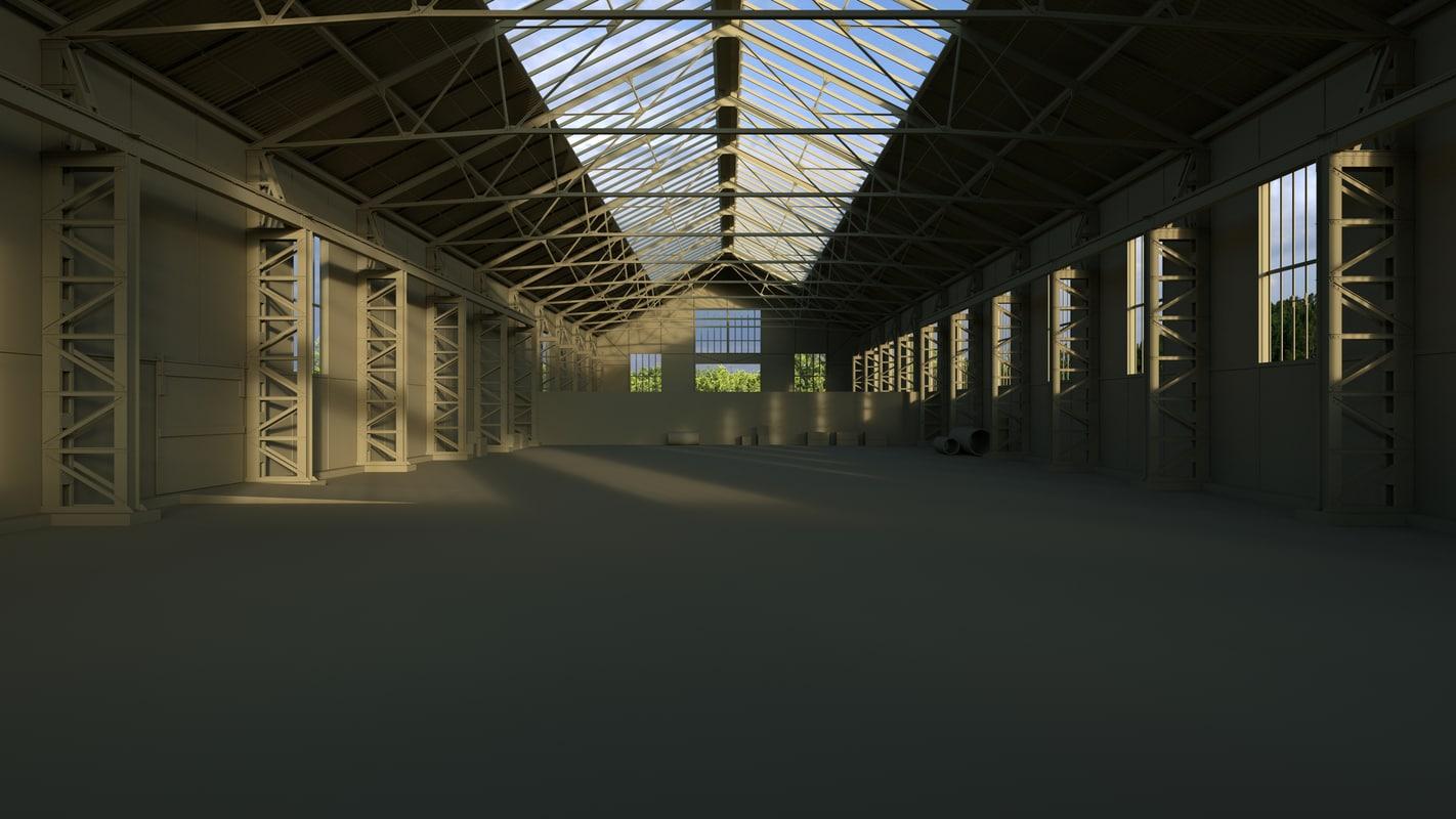 interior texturing 3d model