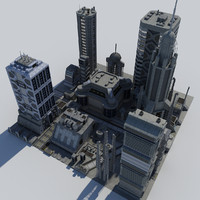 Science_fiction Buildings P02