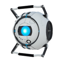 wheatley portal 3d model