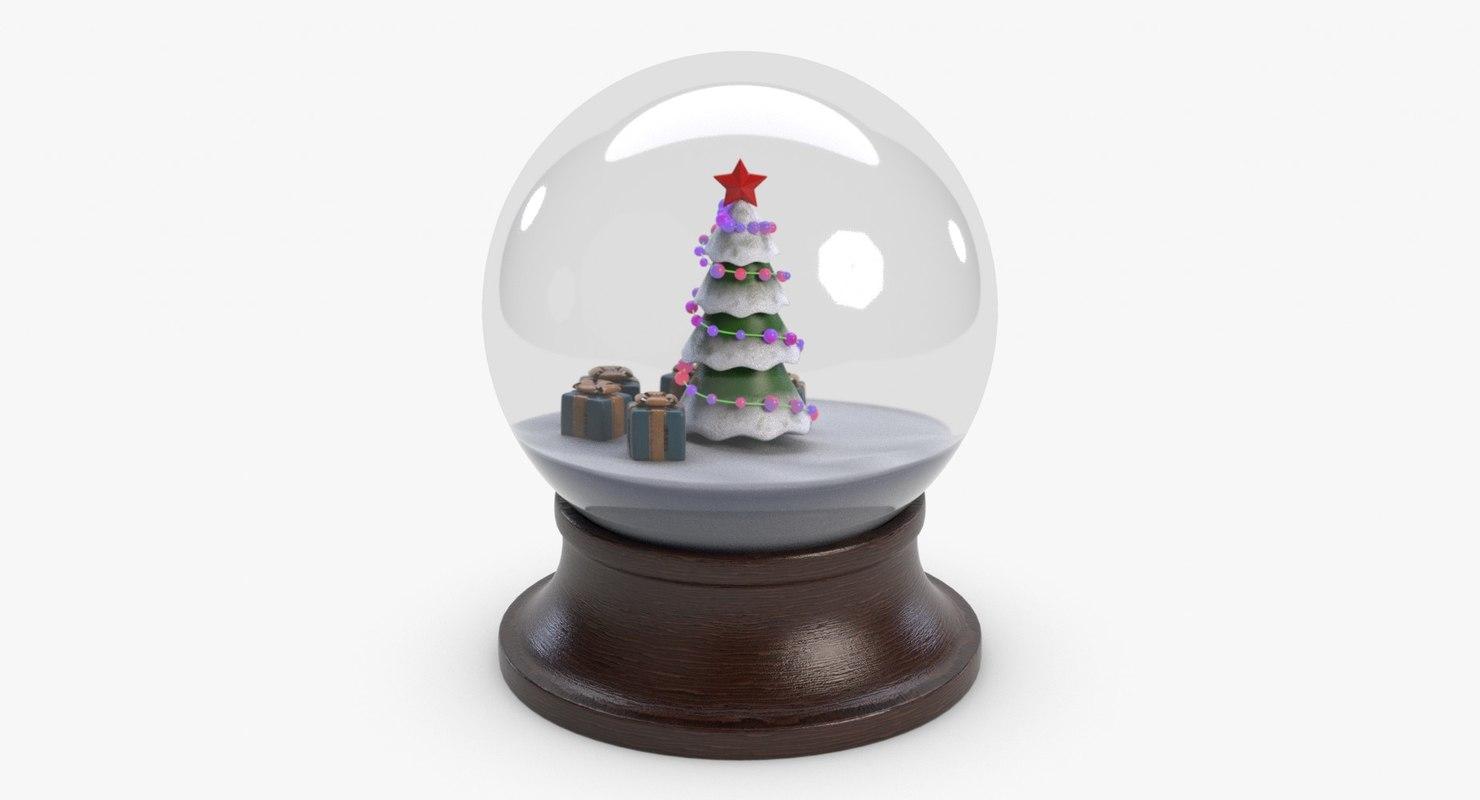 3d new year orb model