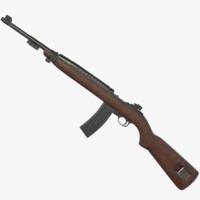m2 carbine 3d max