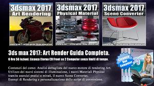 067 3ds max 2017 Art Render Guida Completa vol 67 Italiano cd front
