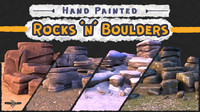 Hand Painted Rocks N Boulders