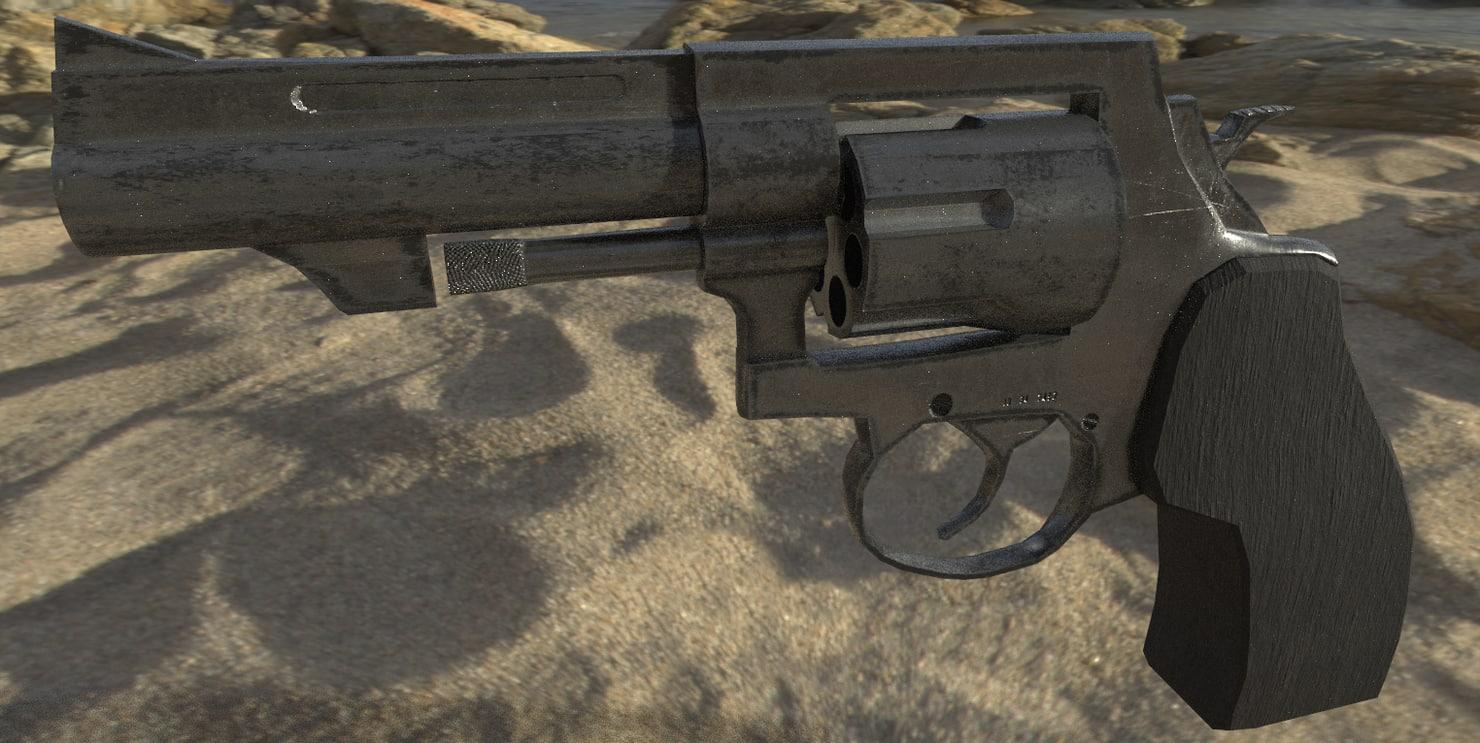 3d r8 revolver