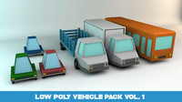 vehicle pack 3d c4d