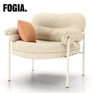3d chair fogia