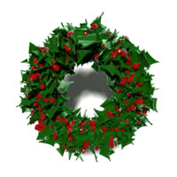 christmas wreaths blend free