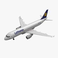 airbus a320 lufthansa animation max