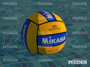 mikasa waterpolo ball 3d max