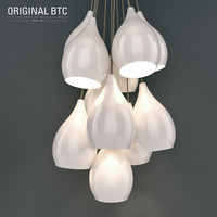 BTC Original Drop One Grouping Of Eleven Pendant Light