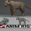 Saber Tooth Tiger 3D models