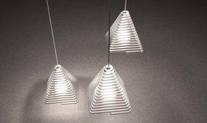 pyramid caustic chandelier 2016 max