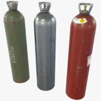 oxygen tank 3d max