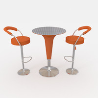 cocktail table 3d model
