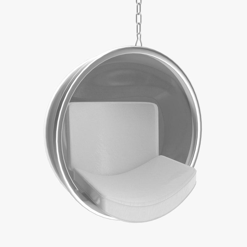 3d model bubble chair