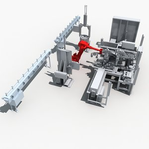 assembly equipment 3d max