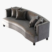 Mitchell Gold Bob Williams DUMONT SOFA WITH BUTTONS