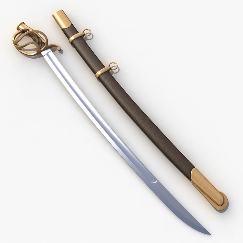 3d cavalry saber