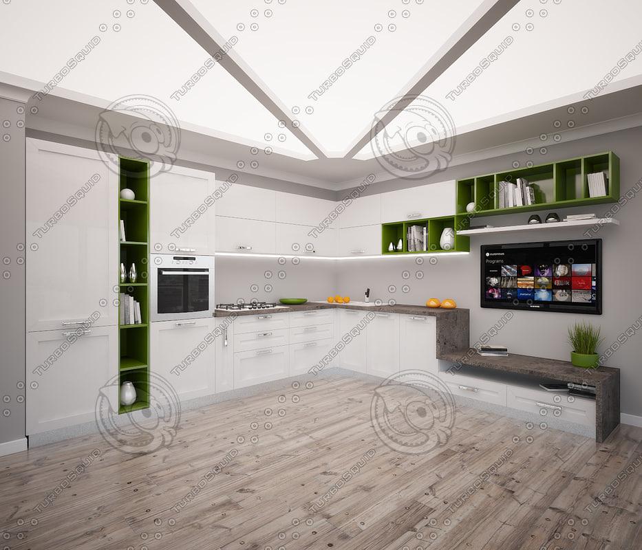 modern kitchen max