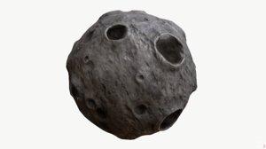 obj moon pbr