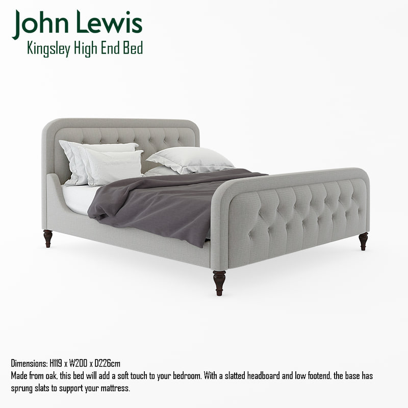 3d john lewis kingsley end model